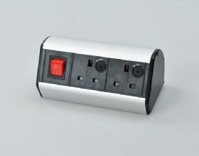 BNS1402 - 2 Power On Desk Power Hub
